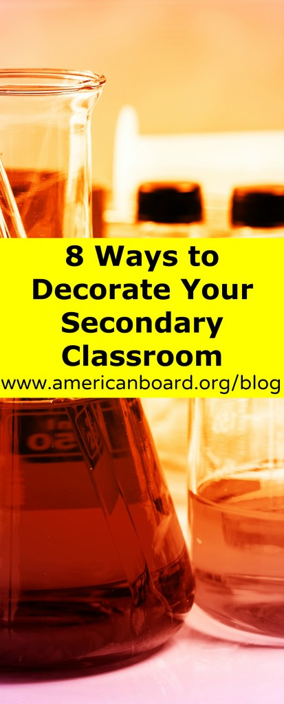 Decorate_Secondary_Classroom_Pinterest