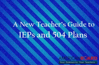 IEPs and 504s Cover Image