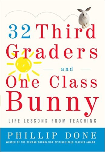 32 third graders and one class bunny cover
