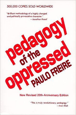 pedagogy of the oppressed cover