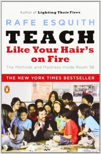 teach like your hair is on fire cover