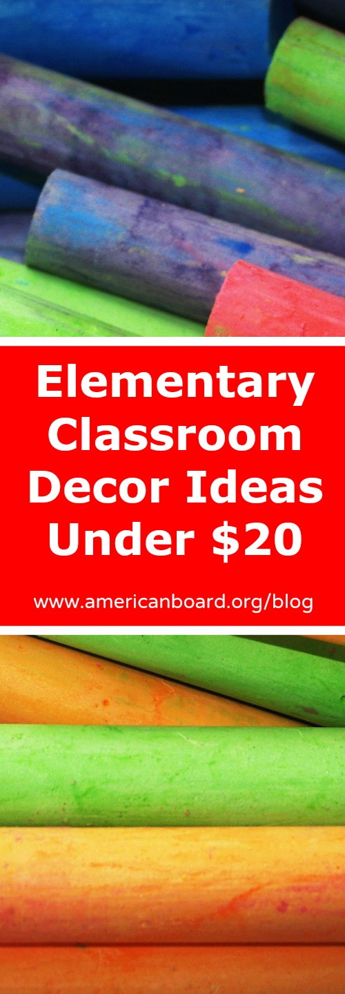Elementary Classroom Decor Ideas For Under 20