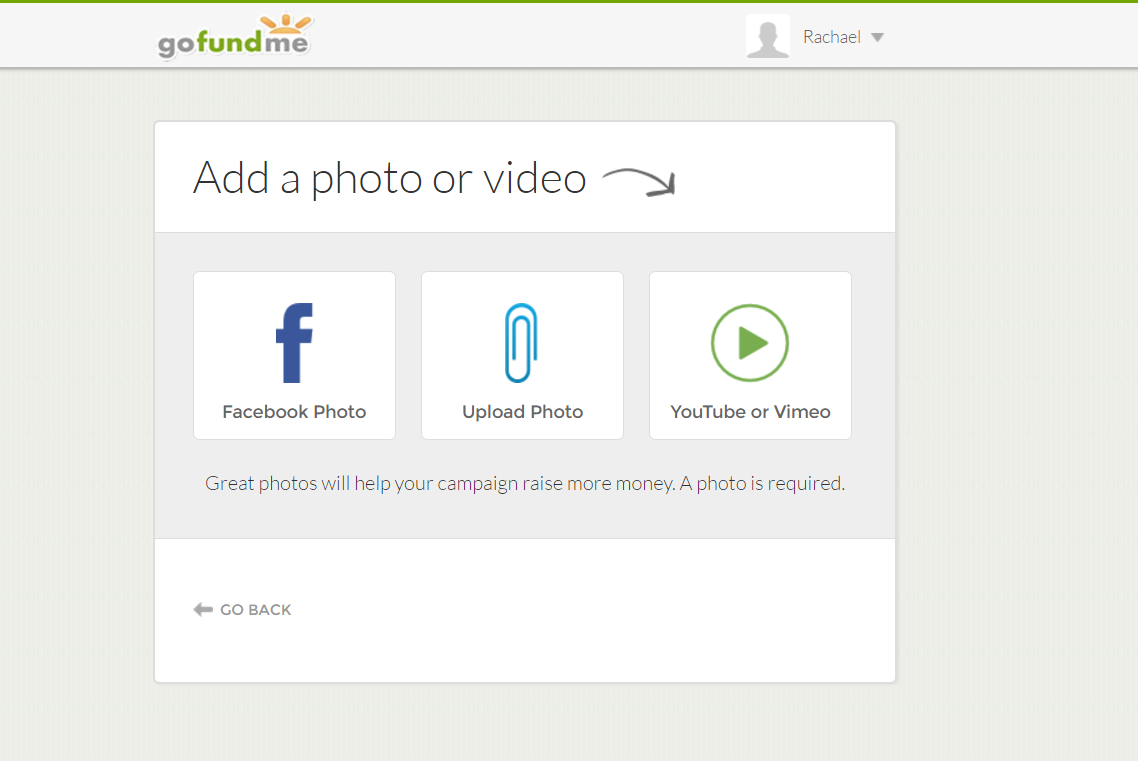 How to crowdfund your teacher certification step 3 upload a photo or video 1betcityfo Images